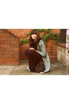 Zara coat - brown threadsence bag
