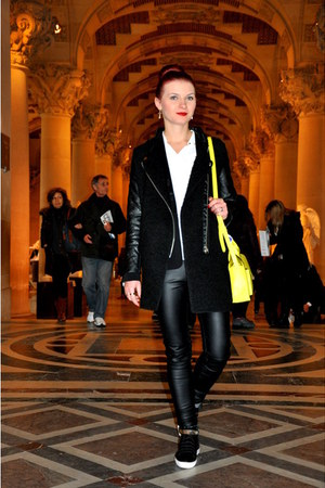 CMCN WOMAN coat - Primark bag - H&M pants - next sneakers