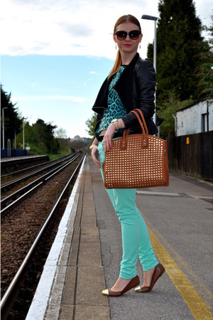 Tom Eva bag - H&M shoes - new look jacket - Matalan pants - Primark t-shirt