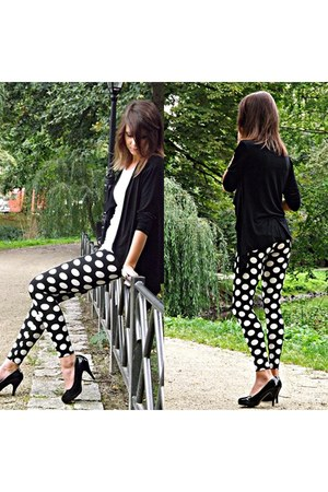 Blazer blazer - dots leggings leggings - Genetic heels - reserved blouse