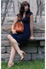 Blue-gift-from-a-friend-necklace-blue-express-dress-brown-modcloth-purse-b