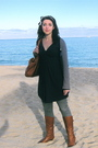 Blue-polo-accessories-blue-american-eagle-cardigan-blue-express-dress-gray