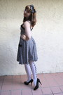 Black-h-m-dress-white-hearts-hot-topic-tights-black-target-accessories-bla
