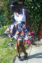 GINA TRICOT top - H&M skirt - Aldo shoes