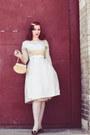 Silk-1950s-vintage-dress-dress-gloves-vintage-heels-heels