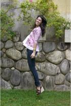 Zara shirt - H&M jeans - Guess heels