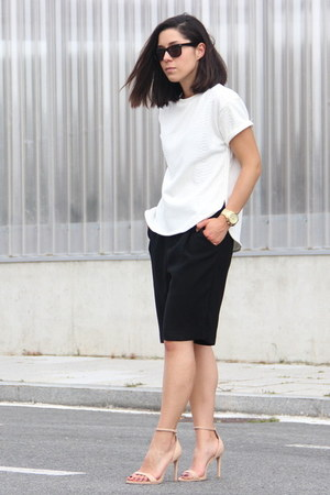 Lefties shirt - Zara shorts