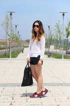Zara top - Zara shorts