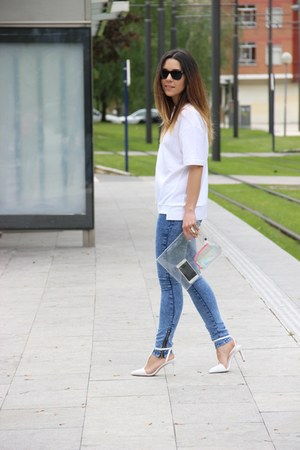 Lefties sweatshirt - Zara heels
