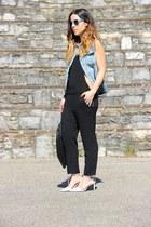 Primark vest - Zara bodysuit - Zara heels