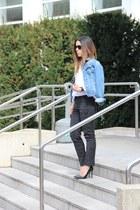 Zara bag - Zara heels - Primark pants