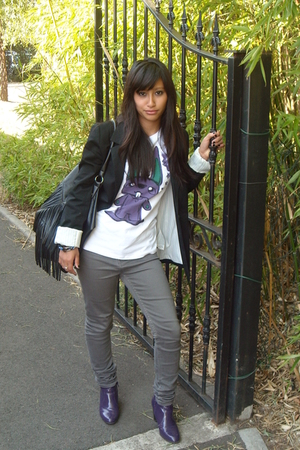 Pimkie blazer - Cheap Monday jeans - H&M - Pimkie t-shirt
