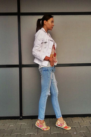new look jeans - Mango blazer - Stradivarius t-shirt
