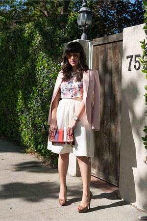 Zara jacket - H&M skirt - Miu Miu heels
