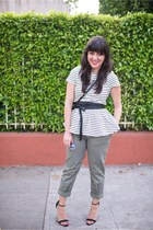 Gap pants - JCrew necklace - asos heels