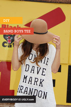DIY Band Boys Tee
