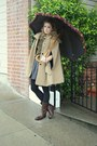 Dark-brown-jcrew-boots-camel-cape-hanii-y-coat-army-green-dean-hutchinson-sw