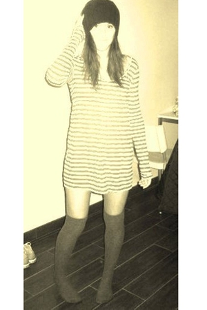 jack wills dress - H&M socks - Guess accessories