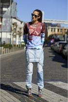 Choies necklace - Wholesale Celebshades sunglasses - Choies sweatshirt