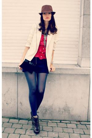 new look blazer - H&M tights