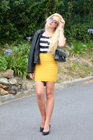 mustard iCandy skirt
