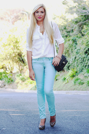 aquamarine Mr Price jeans