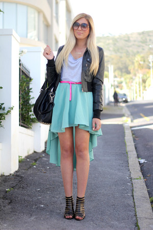 aquamarine Chicwish skirt