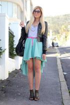 aquamarine Chicwish skirt