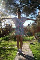Vestite y Andate t-shirt - vintage shorts - shoes