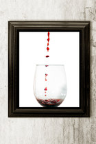 8x10 Wine Print home decor