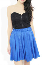 blue StyleSofia skirt