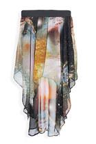 heather gray StyleSofia skirt