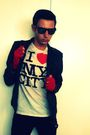 Red-diesel-diy-gloves-white-zara-t-shirt-black-bershka-jacket-black-ray-ba