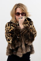 fur jacket Carlo Ramello coat