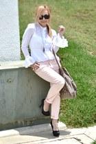 Zara jeans - Forever 21 shirt - Stradivarius bag