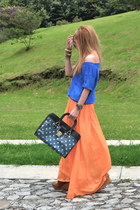 Zara skirt - pull&bear bag