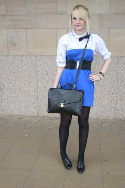 harity shop skirt - charity shop belt - Ebay purse - amsterdam market shirt