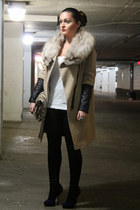 Zara coat - joe fresh style top - sam edelman heels