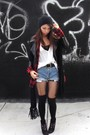 Black-zara-jacket-red-forever-21-shirt-black-kimchi-blue-top-white-piko-19