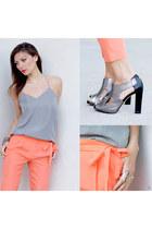 Tibi top - Tibi pants - Kat Maconi heels