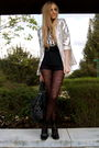Silver-f21-blazer-black-thrift-t-shirt-black-tights-black-marc-jacobs-purs