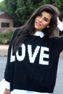 Black-2020ave-sweater-black-luna-b-boots-white-zara-shirt