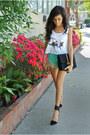 Black-recherche-bag-aquamarine-luna-b-shorts-white-crop-tank-sic-apparel-top