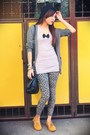 Charcoal-gray-babo-cardigan-heather-gray-random-top-heather-gray-so-fab-legg
