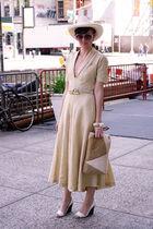 Finis for Henri Bendel dress - Dobbs Fifth Ave hat - sunglasses -