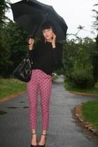 pink Topshop pants