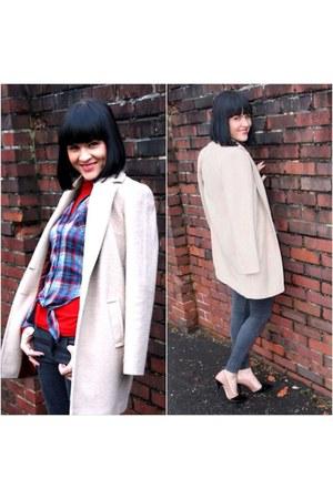 beige Primark coat