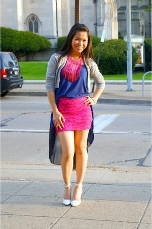 H&M blazer - Marshalls heels - TJMaxx top