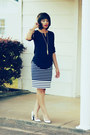 J-crew-shirt-j-crew-skirt-marc-jacobs-heels