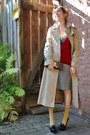 Vintage-valentino-skirt-vintage-trench-burberry-jacket